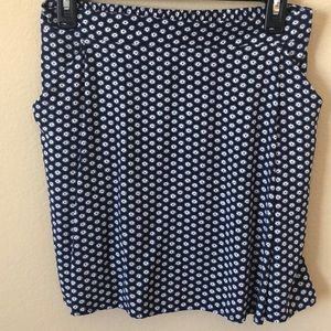 Old Navy Fit and Flare Pocketed Drapey Skirt